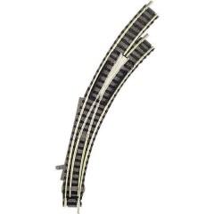 N piccolo (con massicciata) Scambio curvo, destro 45 ° 356.5 mm, 420 mm