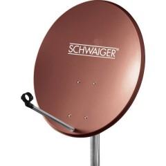 Antenna SAT 60 cm Materiale riflettente: Acciaio Rosso mattone