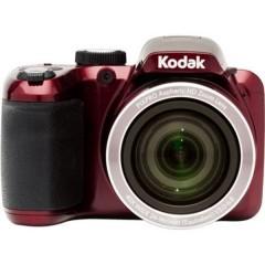 Fotocamera digitale 16 MPixel Zoom ottico: 40 x Rosso Body Video Full HD, Stabilizzatore