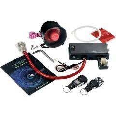 Alarm Plus Sistema antifurto per auto immobilizzatore, Sensore di vibrazione, Incl. telecomando 12 V