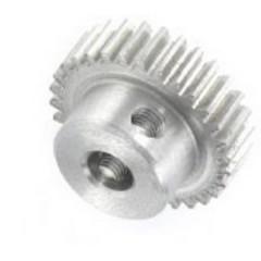 Ingranaggio dentato cilindrico Acciaio Tipo di modulo: 0.5 Ø foro: 4 mm Numero di denti: 30