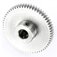 Ingranaggio dentato cilindrico Acciaio Tipo di modulo: 0.5 Ø foro: 6 mm Numero di denti: 60