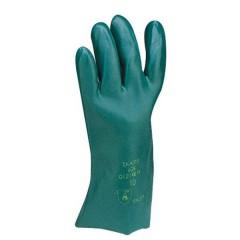 Cloruro di polivinile Guanto di protezione per prodotti chimici Taglia: 9, L EN 374 , EN 388 , EN