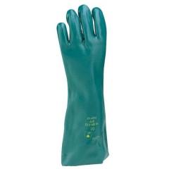 Cloruro di polivinile Guanto di protezione per prodotti chimici Taglia: 10, XL EN 374 , EN 388 , EN