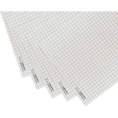 Blocco fogli di ricambio per Flipchart Numero di fogli: 100 a quadretti 650 mm x 930 mm Bianco
