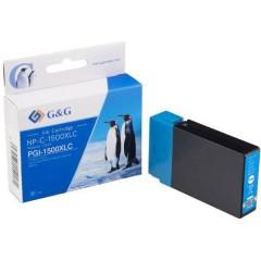 Cartuccia Compatibile sostituisce Canon PGI-1500XL C Ciano NP-C-1500XLC