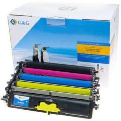 Toner sostituisce Brother TN-230BK, TN-230C, TN-230M, TN-230Y Compatibile Nero, Magenta, Ciano, Giallo 2200 pagine
