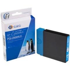 Cartuccia Compatibile sostituisce Canon PGI-2500XL C Ciano NP-C-2500XLC