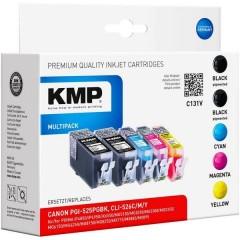 Cartuccia Compatibile sostituisce Canon PGI-525, CLI-526 Imballo multiplo Nero, Ciano, Magenta, Giallo C131V