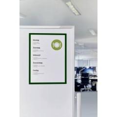 Cornice magnetica Verde DIN A4