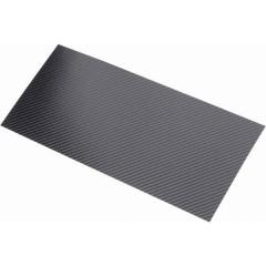 Piastra in carbonio (L x L) 340 mm x 150 mm 0.55 mm