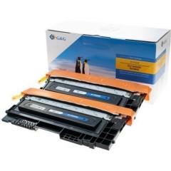 Toner conf. 2 Pz. sostituisce Samsung CLT-K404S, K404, SU100A Compatibile Nero 3000 pagine