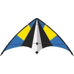 Aquilone acrobatico Sky Move Larghezza estensione 1600 mm Intensità del vento 4 - 6 bft