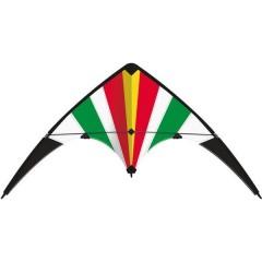 Aquilone acrobatico Lucky loop Larghezza estensione 1000 mm Intensità del vento 4 - 6 bft