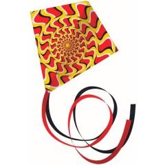 Monofilo Aquilone statico Illusion Larghezza estensione 700 mm Intensità del vento 3 - 6 bft