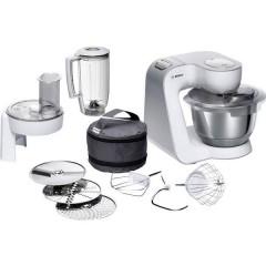Robot da cucina 1000 W Bianco, Argento (opaco)