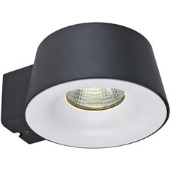 Sibu Lampada da parete per esterni a LED 10 W Bianco caldo Antracite