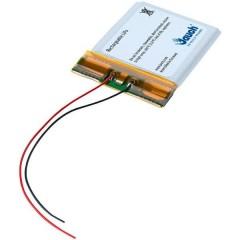 LP402025JU Batteria ricaricabile speciale Prismatica con cavo LiPo 3.7 V 150 mAh