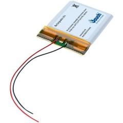 LP402535JU Batteria ricaricabile speciale Prismatica con cavo LiPo 3.7 V 380 mAh