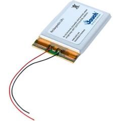 LP802036JU Batteria ricaricabile speciale Prismatica con cavo LiPo 3.7 V 500 mAh