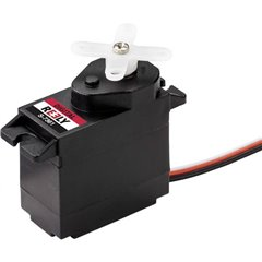 Micro Servo Servo digitale Materiale trasmissione: Plastica Sistema innesto: JR