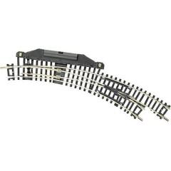 N (senza massicciata) Scambio curvo, elettrico, destro 42 ° 194.6 mm, 228.2 mm