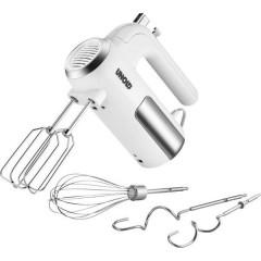 Sbattitore elettrico 450 W Bianco, acciaio inox