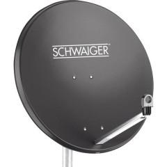 Antenna SAT 80 cm Materiale riflettente: Acciaio Antracite