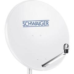 Antenna SAT 80 cm Materiale riflettente: Acciaio Grigio chiaro