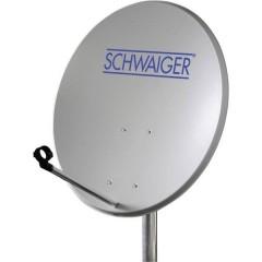Antenna SAT 60 cm Materiale riflettente: Acciaio Grigio chiaro