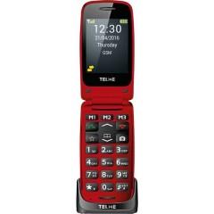 Cellulare a conchiglia senior X200 Stazione di ricarica, Pulsante SOS Rosso