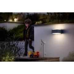 Hedgehog Lampada da parete per esterno LED (monocolore) E27 42 W Antracite