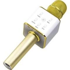 BT-X31 Altoparlante Bluetooth AUX, USB Oro, Bianco