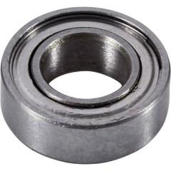 Cuscinetto a sfere Acciaio al cromo Diam int: 6 mm Diam. est.: 12 mm Giri (max): 57000 giri/min