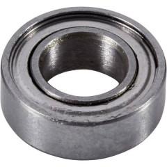 Cuscinetto a sfere Acciaio al cromo Diam int: 3 mm Diam. est.: 6 mm Giri (max): 92000 giri/min