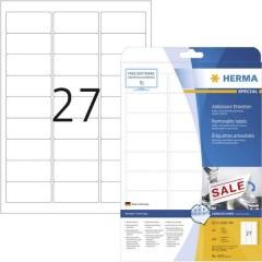 Etichette 63.5 x 29.6 mm Carta Bianco 675 pz. Staccabile Etichetta universale Inchiostro, Laser, Copia 25