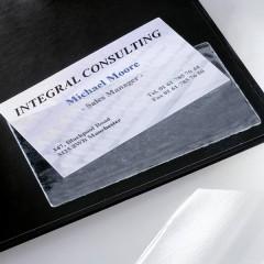 Porta biglietto da visita autoadesivo Numero max. di schede:100 Schede 100 pz.