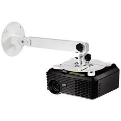 Supporto a soffitto per proiettore Inclinabile, Ruotabile Distanza dal soffitto/terra (max.): 63.5 cm