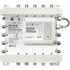 SAT multiswitch Ingressi (Multiswitch): 5 (4 satellitare / 1 terrestre) Numero utenti: 8 Funzione
