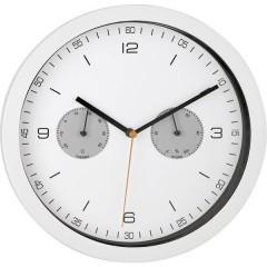 Radiocontrollato Orologio da parete 260 mm x 42 mm Bianco