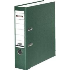 Raccoglitore FALKEN PP-Color DIN A4 Larghezza dorso: 80 mm Verde 2 archetti
