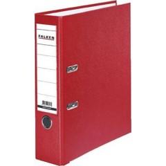 Raccoglitore FALKEN PP-Color DIN A4 Larghezza dorso: 80 mm Rosso 2 archetti