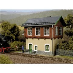 Edificio di manovra ferroviaria Tharandt H0