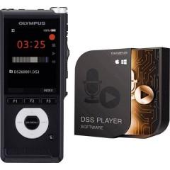 DS-2600 Registratore vocale digitale Tempo di registrazione (max.) 56 h Nero Inclusa scheda SD da 2 GB , incl.