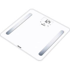 BF600 WHITE Bilancia per lanalisi corporea Portata max.=180 kg Bianco