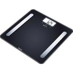 BF600 BLACK Bilancia per lanalisi corporea Portata max.=180 kg Nero