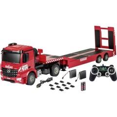 Arocs con caricatore basso Goldhofer Modellino per principianti 1:20 Camion incl. Batteria, caricatore e