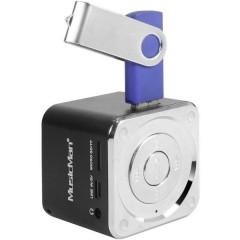 Mini altoparlante MusicMan Mini AUX, SD, USB Nero