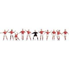 TT Personaggi squadra di calcio rosso/bianco