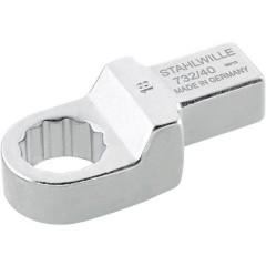 Chiavi ad anello ad innesto 24 mm per 14x18 mm